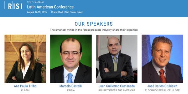 EVENTOSRISI  realiza la décima Conferencia Anual de Pasta y Papel de Latinoamérica