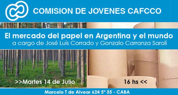 EVENTOSLa Comisión de Jóvenes de CAFCCo realizó con éxito la charla sobre el mercado del papel