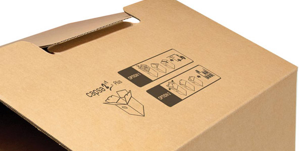 Espa a presentan innovador cierre de cajas de cart n en for Cajas de carton madrid