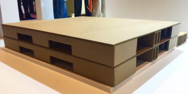 INNOVACIÓNTecnicarton lanza un palé de cartón que soporta 3.000 kilos