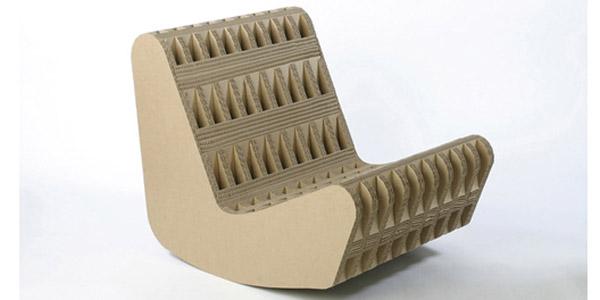 ARQUITECTURA Diseño e ingenio en sillas de Cartón corrugado