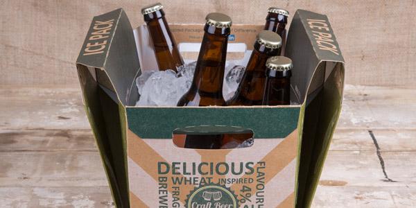 PACKAGINGInnovación en envases: diseñan caja de cartón que mantiene frías las bebidas