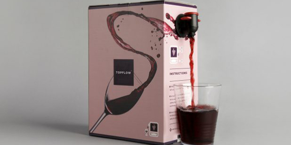 PACKAGINGSwedbrand presenta la tecnología TopFlow para vinos bag-in-box