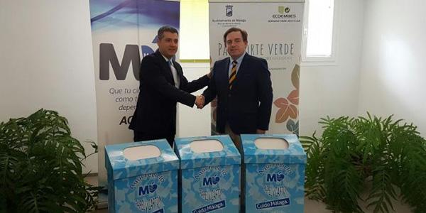 INTERNACIONALSmurfit Kappa  firma convenio para recolectar y reciclar papel en Málaga
