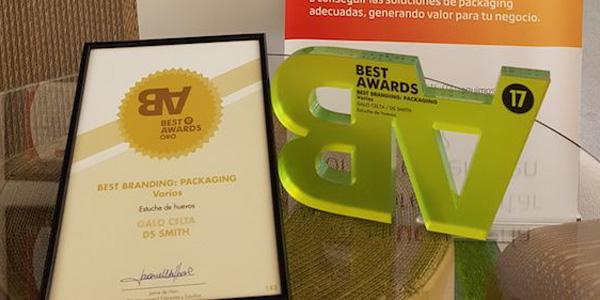 PACKAGINGDS Smith, galardonado en los premios Best Awards