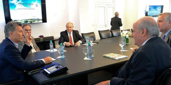 SECTOREl CEO de Arcor le anunció a Macri una inversión de u$s 230 millones