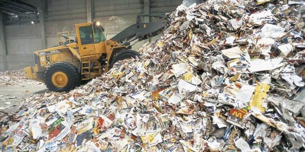 INTERNACIONALIndustria española fija reciclar el 74% de su papel para 2020
