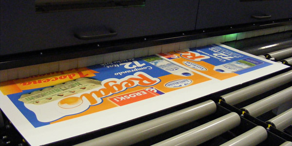 Impresión carton