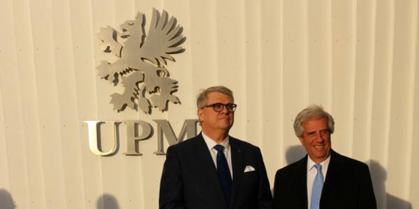 REGIONALInminente firma de acuerdo entre Uruguay y UPM