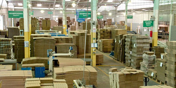 REGIONALBrasil: Ventas de cartón corrugado suben 8,5% en octubre