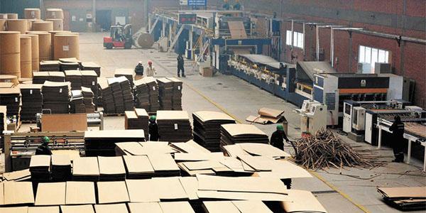 INTERNACIONALEEUU: producción de cajas de cartón corrugado cayó 0,8% en enero