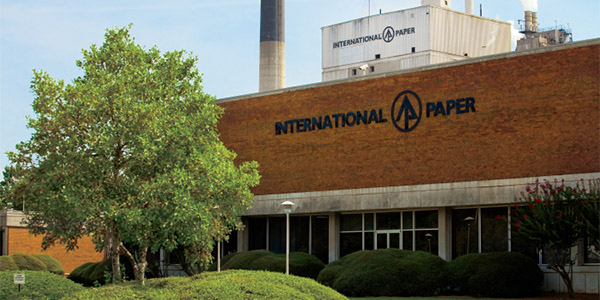 PAPELPor medidas medioambientales, International Paper incrementa sus ventas a China