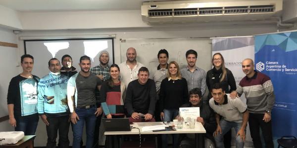 Se realizó en Rosario el curso de Impresión Flexográfica