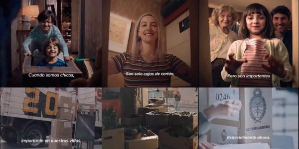 Las CAJAS de Cartón Corrugado en la nueva campaña de Mercado Libre
