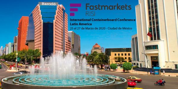 Conferencia Latinoamericana de Papeles para Corrugar. Del 25 al 27 de Marzo en México