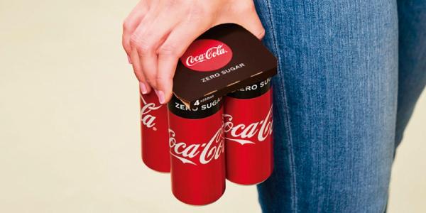 El envase de cartón corrugado de Coca-Cola es reconocido por su innovación y diseño