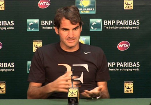 Federer Reflects On Tursunov Win