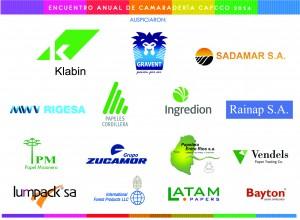Auspiciantes Encuentro CAFCCo 2014