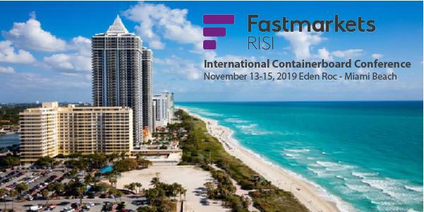 Conferencia Internacional de Papeles para Corrugar: del 13 al 15 de Noviembre en Miami