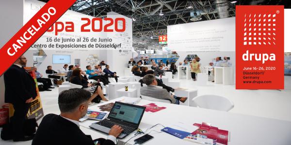 La drupa se pospone hasta el 2021