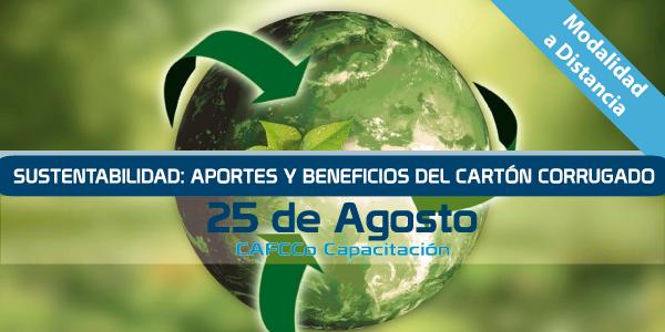 Sustentabilidad: Aportes y beneficios del cartón corrugado